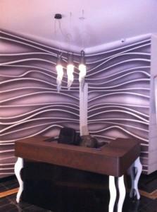 Lampada ferro di design per Hotel a Milano progettazione Architetto Matteo Maria Gentile