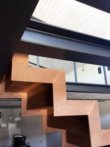 Scala Corten Abitazione Privata Progettazione Westway Architects