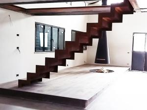 Scala Acciaio Corten Progetto Westway Architects