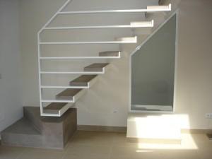 Scala in ferro per abitazione privata a Roma progettazione Westway Architects