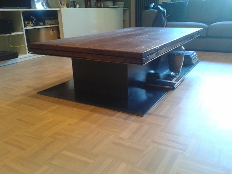 Produzione vendita tavoli metallo a roma - Tavoli design low cost ...