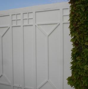 Cancello carrabile in ferro per abitazione privata