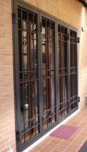 Grate in ferro abitazione privata a Roma