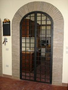 Grate in ferro per frantoio in Umbria